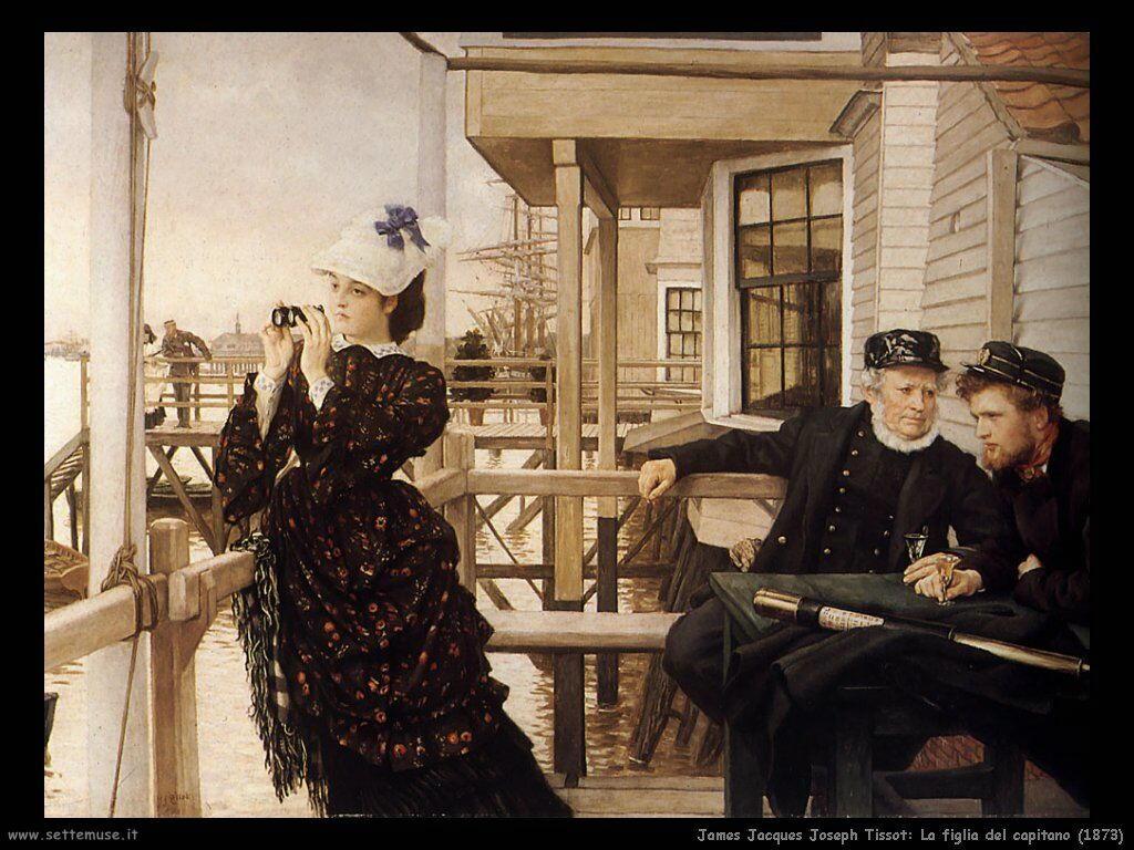 Tissot, La figlia del capitano (1873)