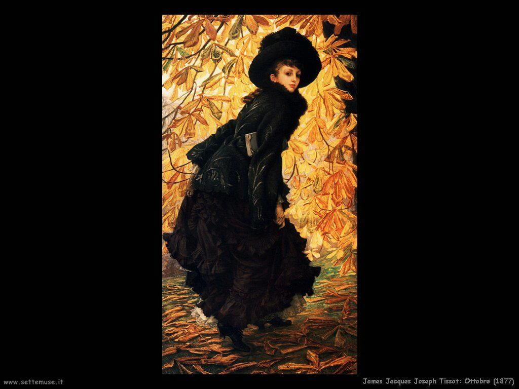 Tissot, Ottobre (1877)