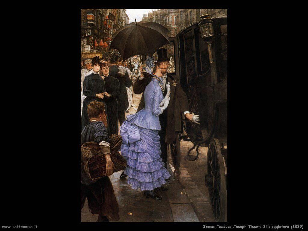 Tissot, Il viaggiatore (1885)