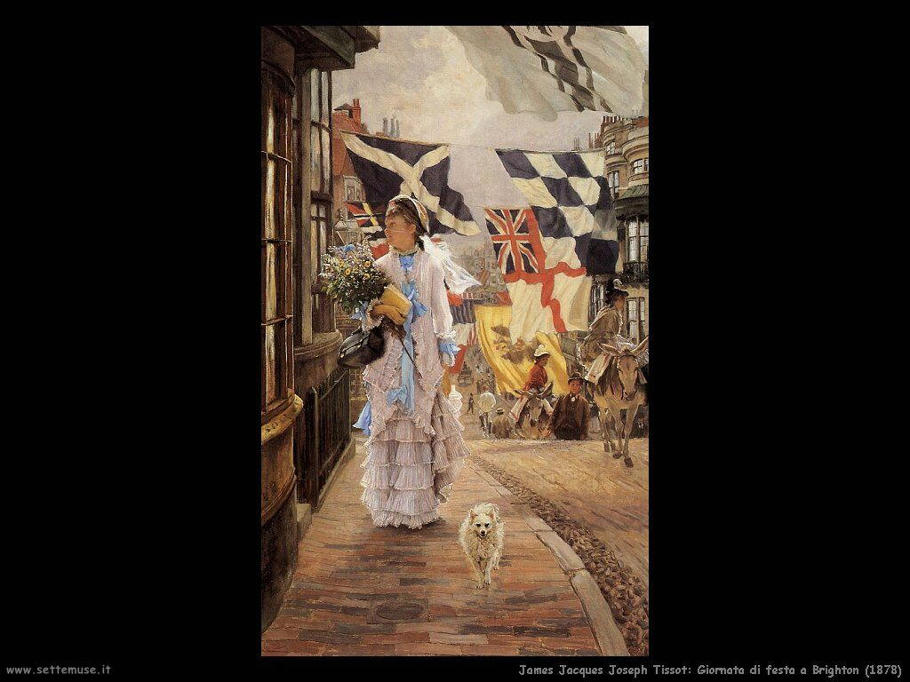 Tissot, Giornata di festa a Brighton (1878)