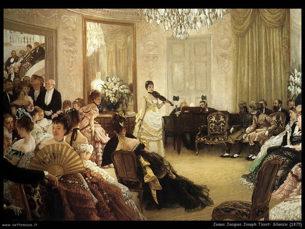 Tissot, Silenzio! (1875)