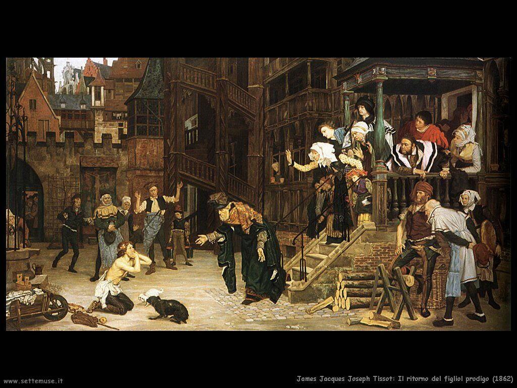 Il ritorno del figliol prodigo (1862) Tissot