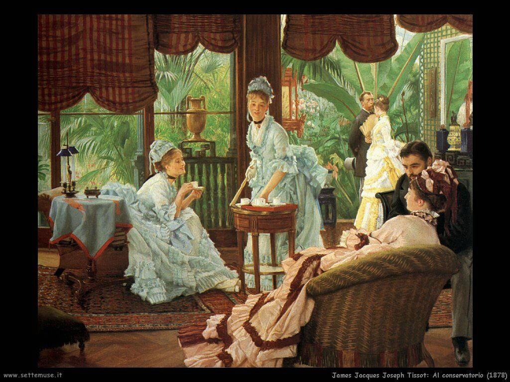 Tissot Al conservatorio (1878)