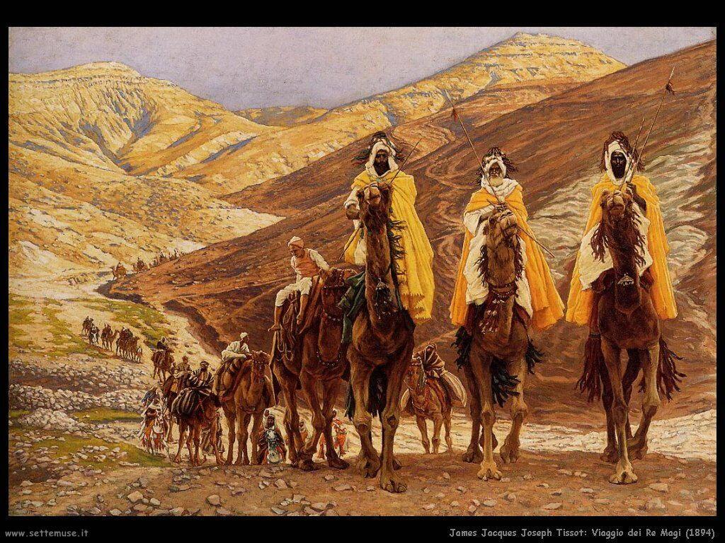 Tissot, Viaggio dei Re Magi (1894)