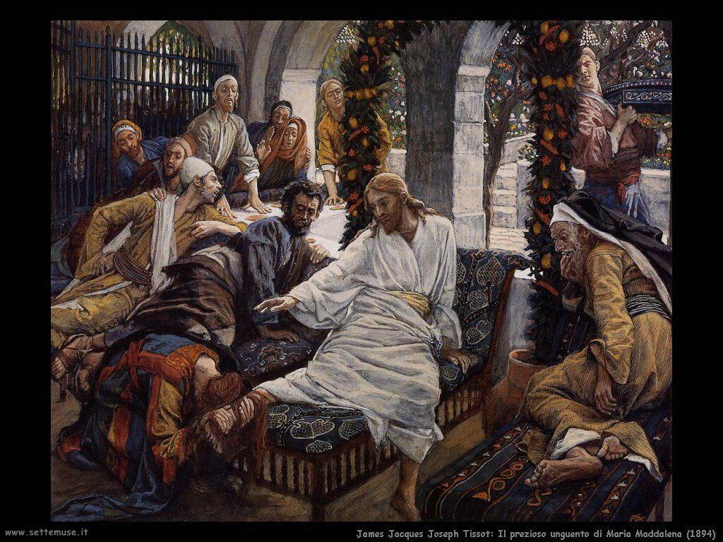 Tissot, Il prezioso unguento di Maria Maddalena (1894)