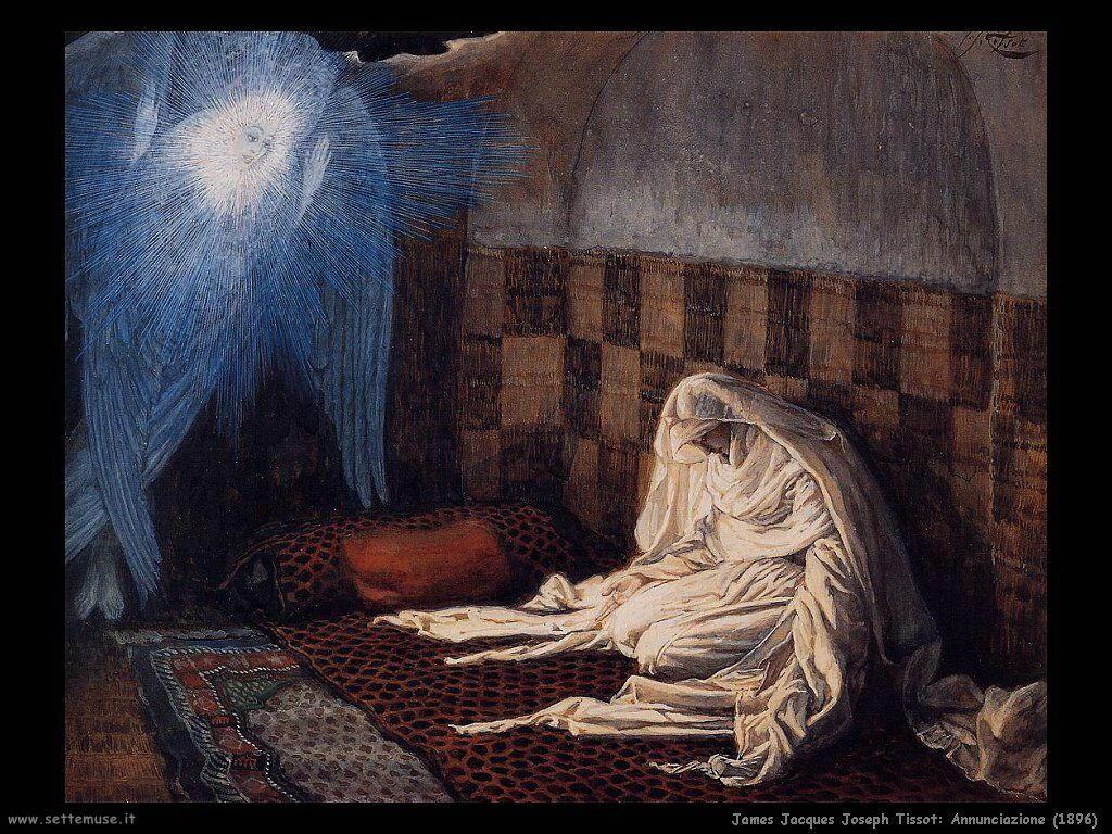 Annunciazione (1896) Tissot