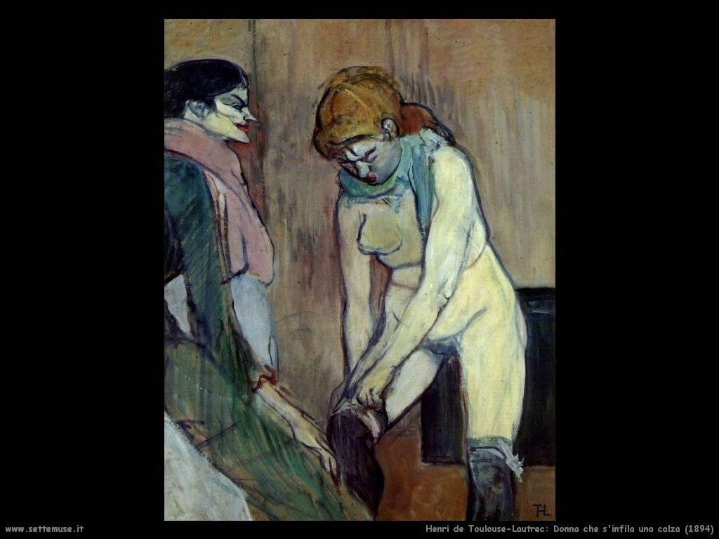 001 donna si infila una calza 1894