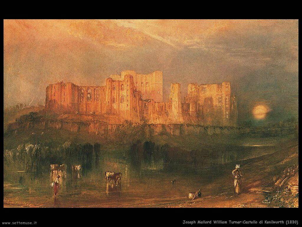 joseph turner castello_di_kenilworth_1830