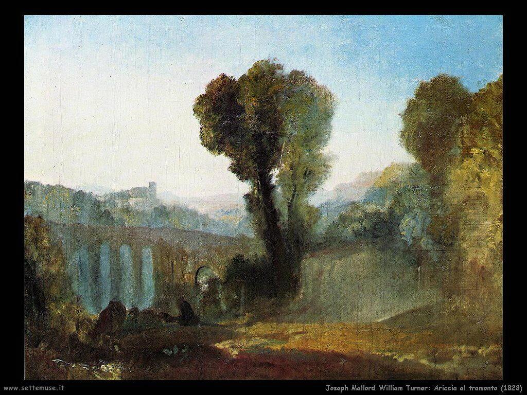 joseph_turner__ariccia_tramonto_1828