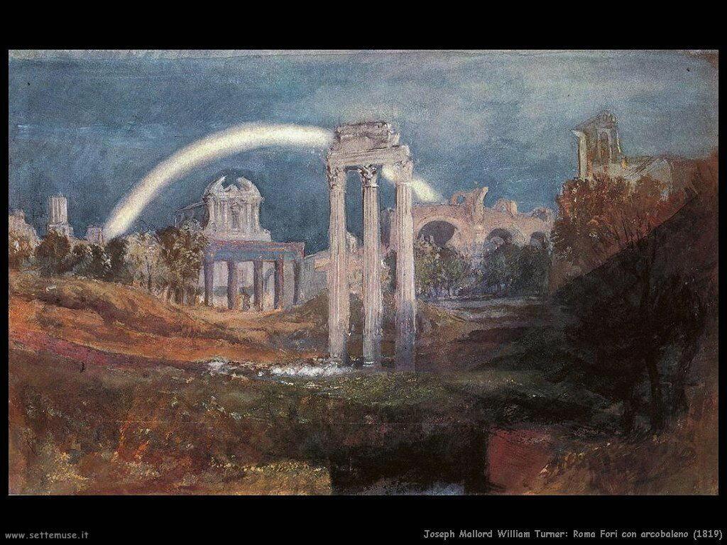 joseph_turner_roma_fori_con_arcobaleno_1819