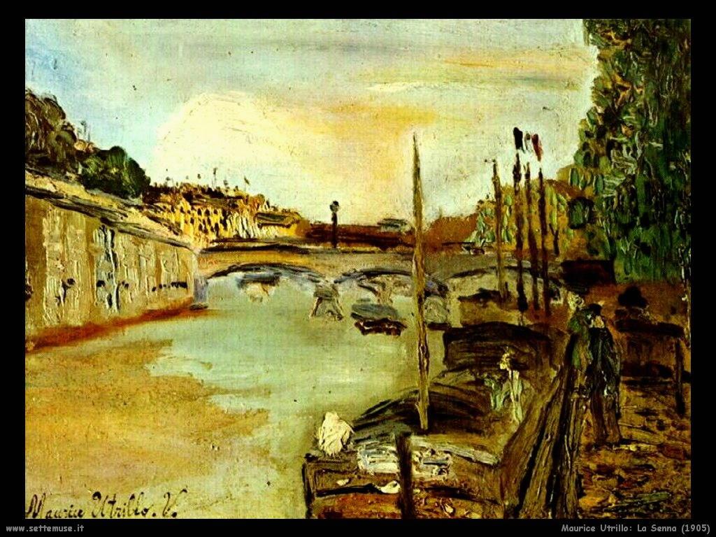 Maurice Utrillo_la_senna_1905