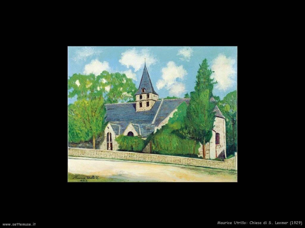 Maurice Utrillo_chiesa_di_s_leomer_1929
