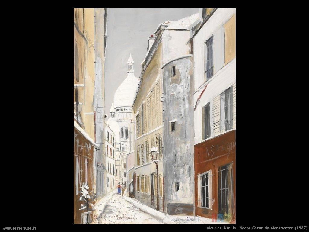 Maurice Utrillo_Sacre_Coeur_de_Montmartre_1937