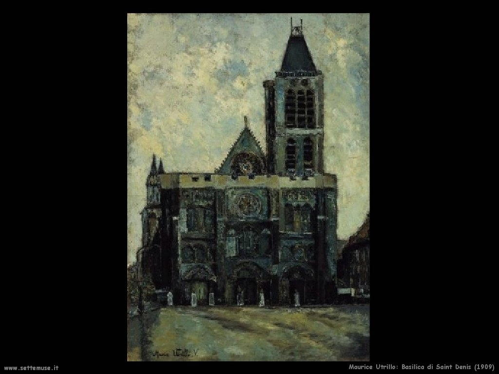 Maurice Utrillo_Basilica_di_Saint_Denis_1909