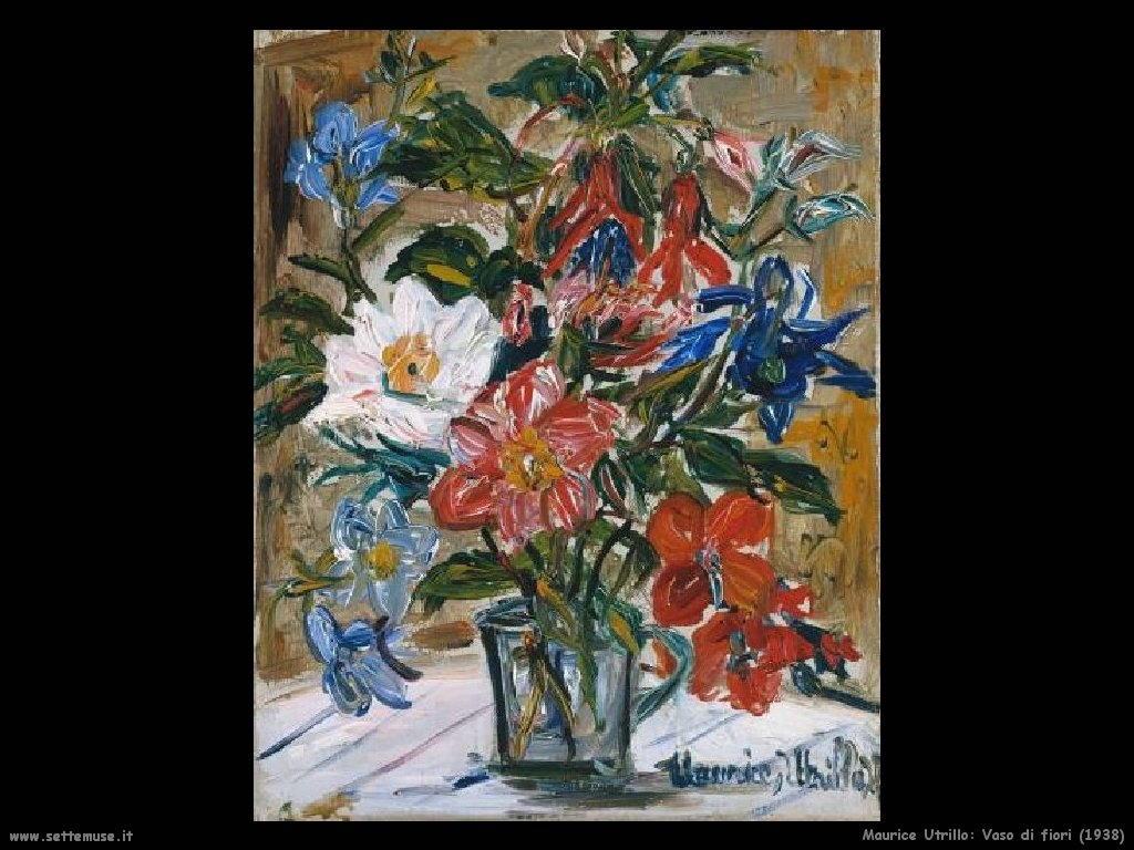 Maurice Utrillo_vaso_di_fiori_1938
