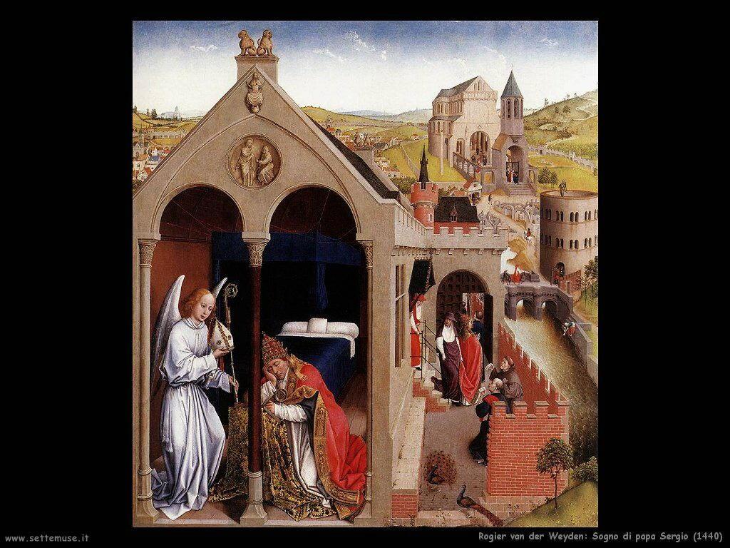 rogier_van_der_weyden_sogno_di_papa_sergio_1440