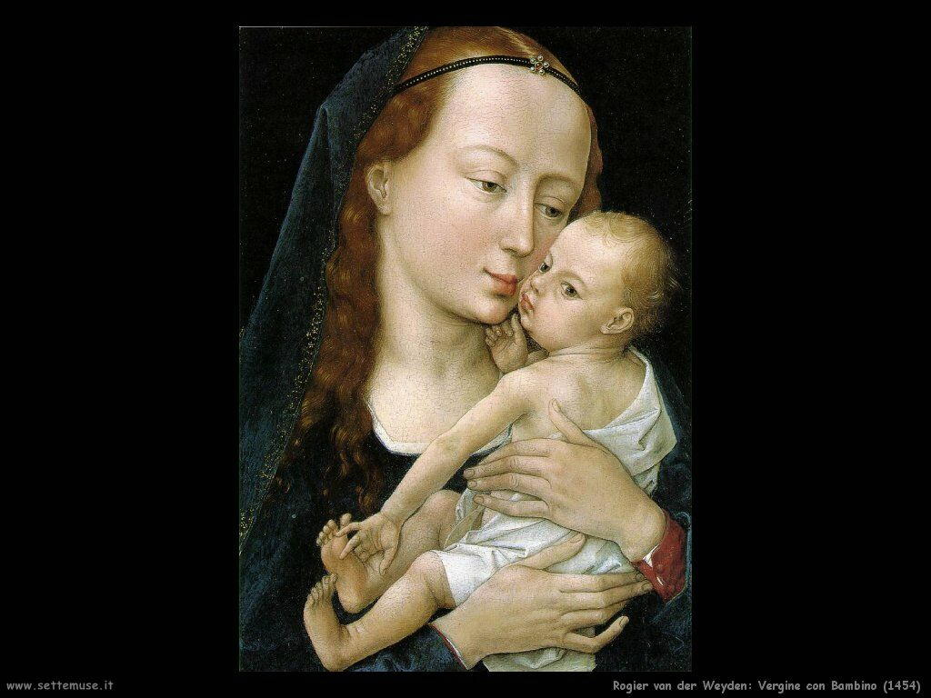 rogier_van_der_weyden_vergine_con_bambino_1454