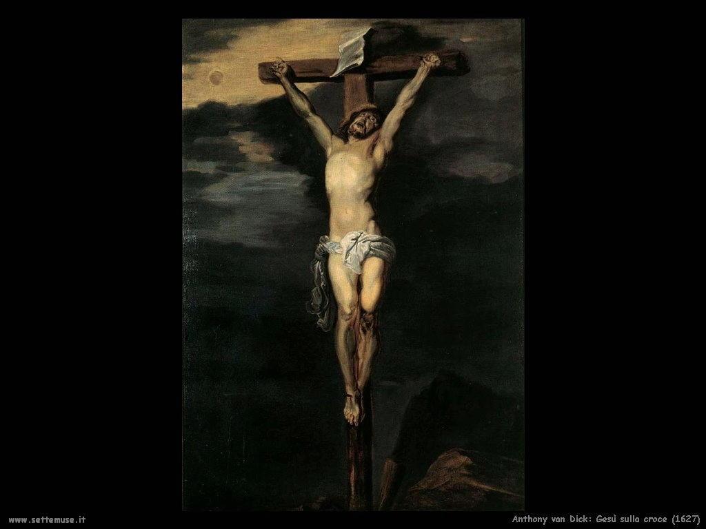 Anthony van Dyck_gesù_sulla_croce_1627