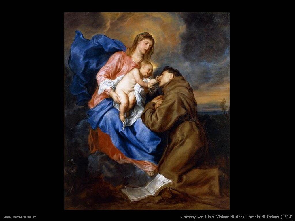 Anthony van Dyck_visione_sant_antonio_di_padova_1628