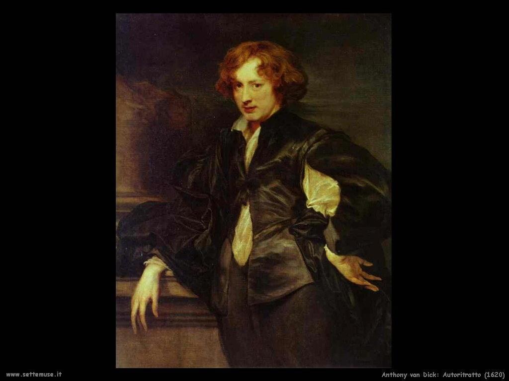 Anthony van Dyck_autoritratto_1620