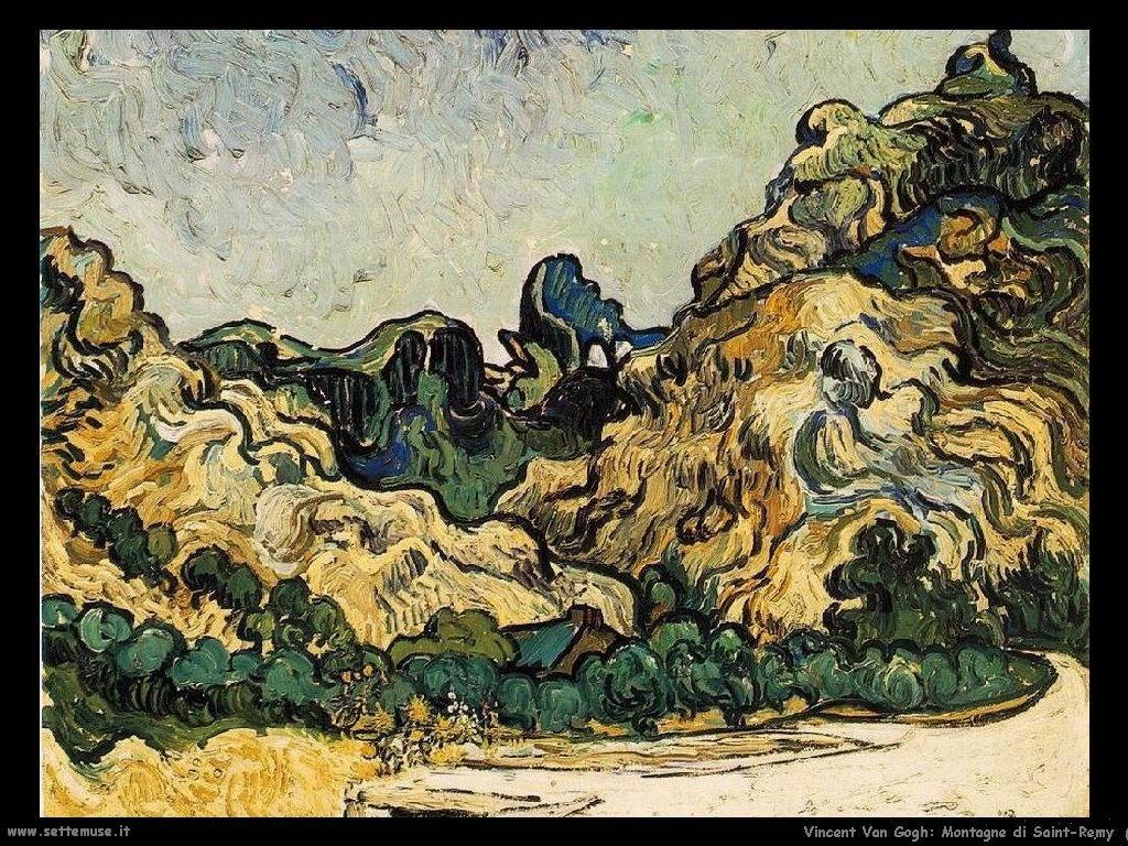 Vincent van Gogh_montagne_di_saint_remy