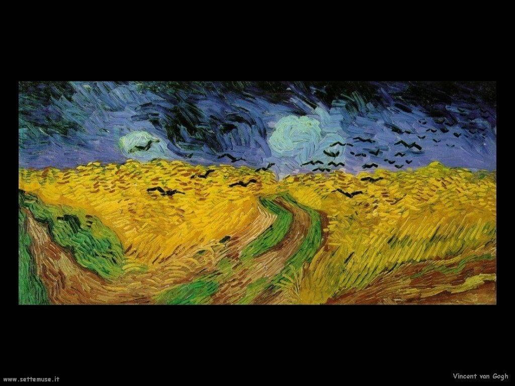 Vincent van Gogh_campo_di_grano_con_corvi_1890