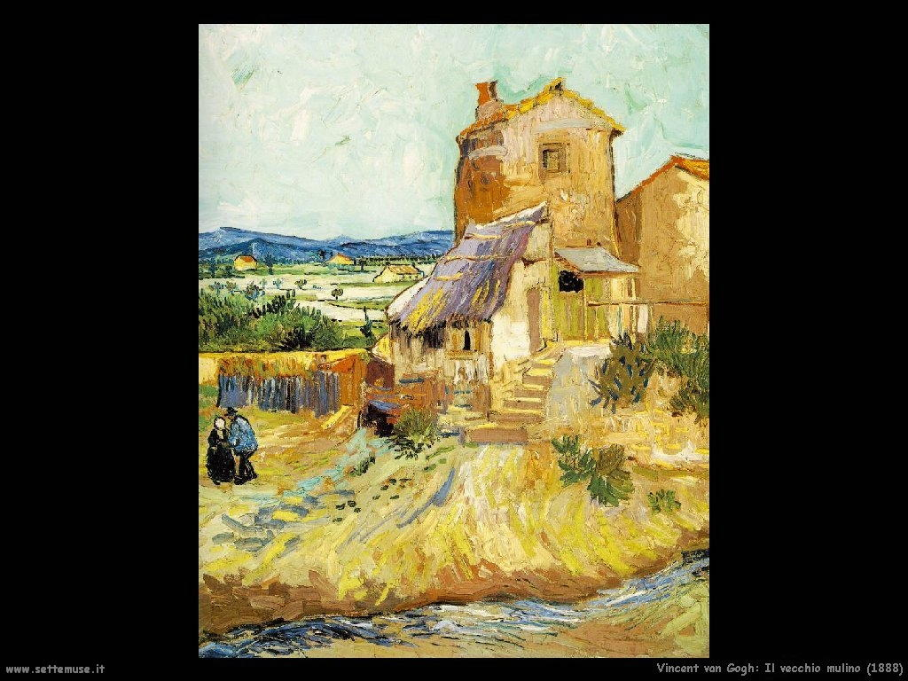 Vincent van Gogh_vecchio_mulino_1888