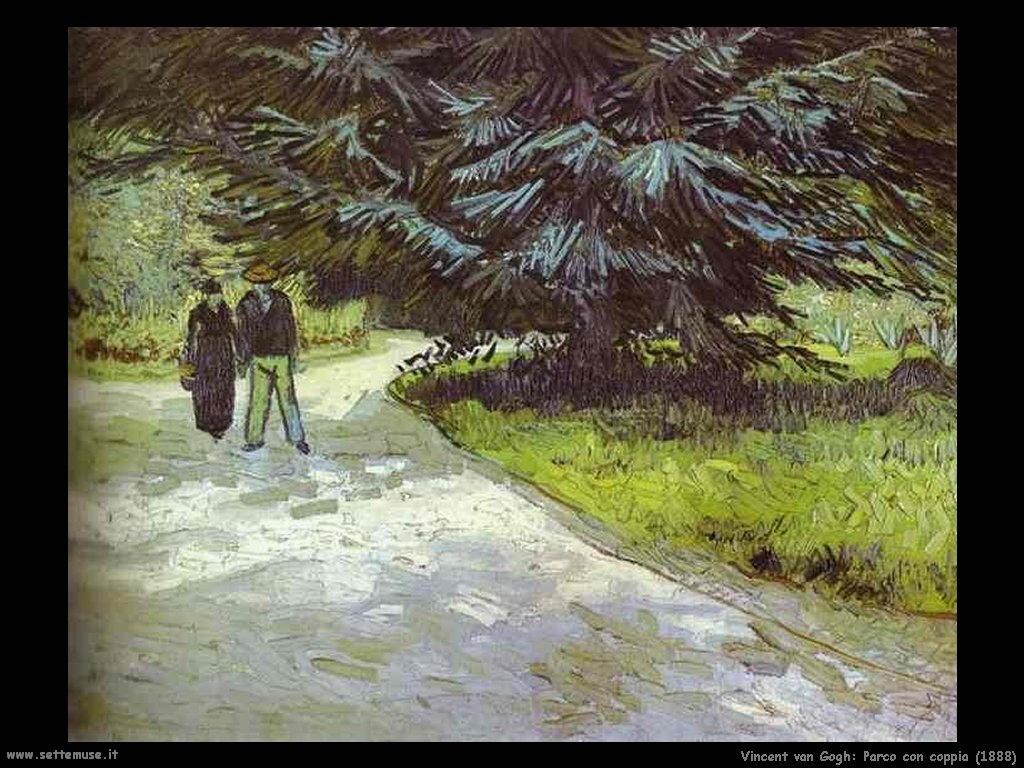 Vincent van Gogh_parco_con_coppia_1888