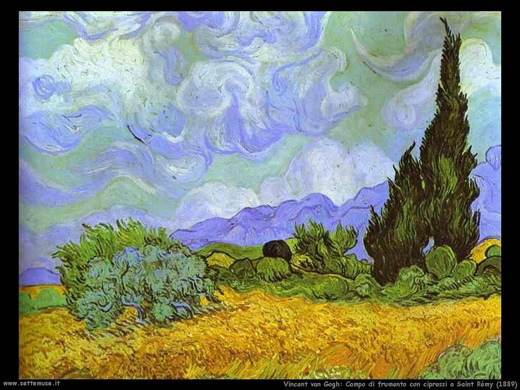 Vincent van Gogh_campo_di_frumento_con_cipressi_saint_rémy_1889