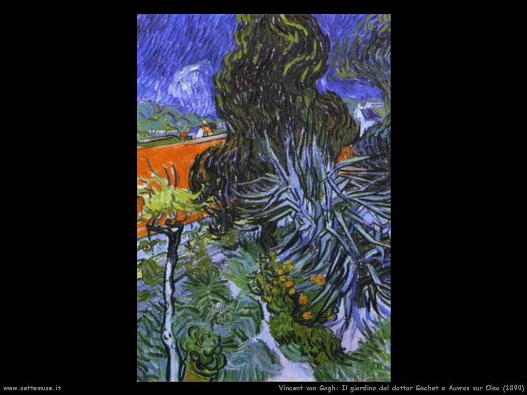 Vincent van Gogh_giardino_dottor_gachet_a_auvers_sur_oise_1890