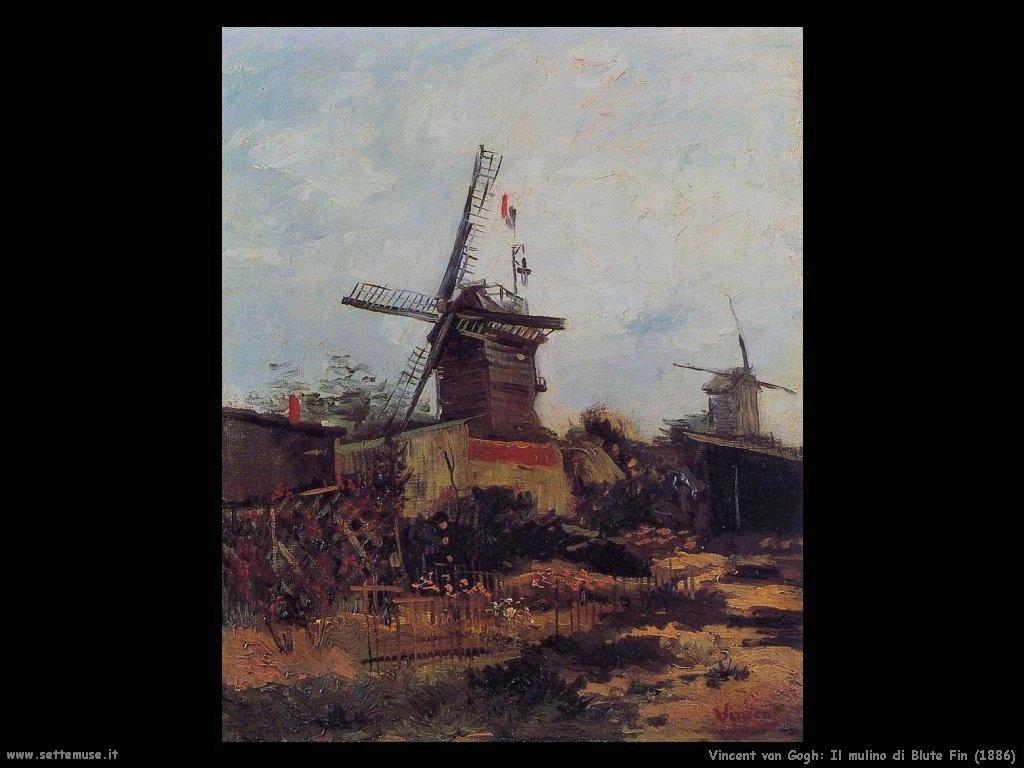 Vincent van Gogh_le_moulin_de_blute_fin_1886