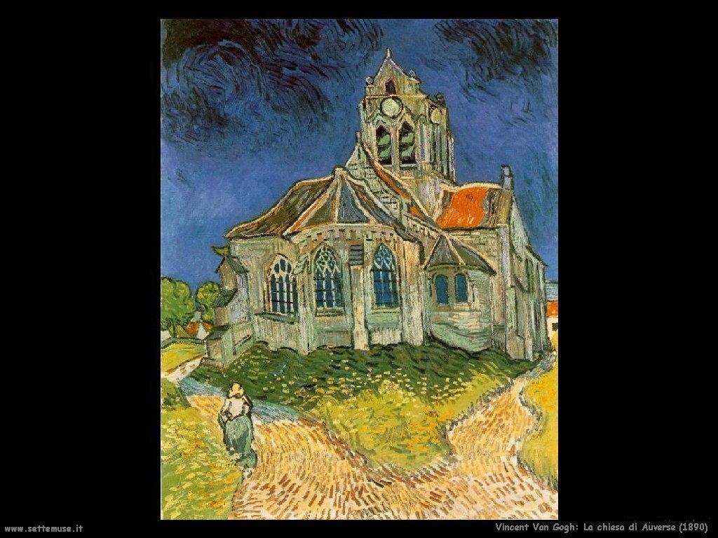 Vincent van Gogh_la_chiesa_di_auverse_1890