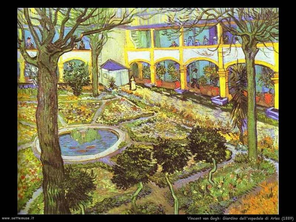 Vincent van Gogh_giardino_dell_ospedale_di_arles_1889