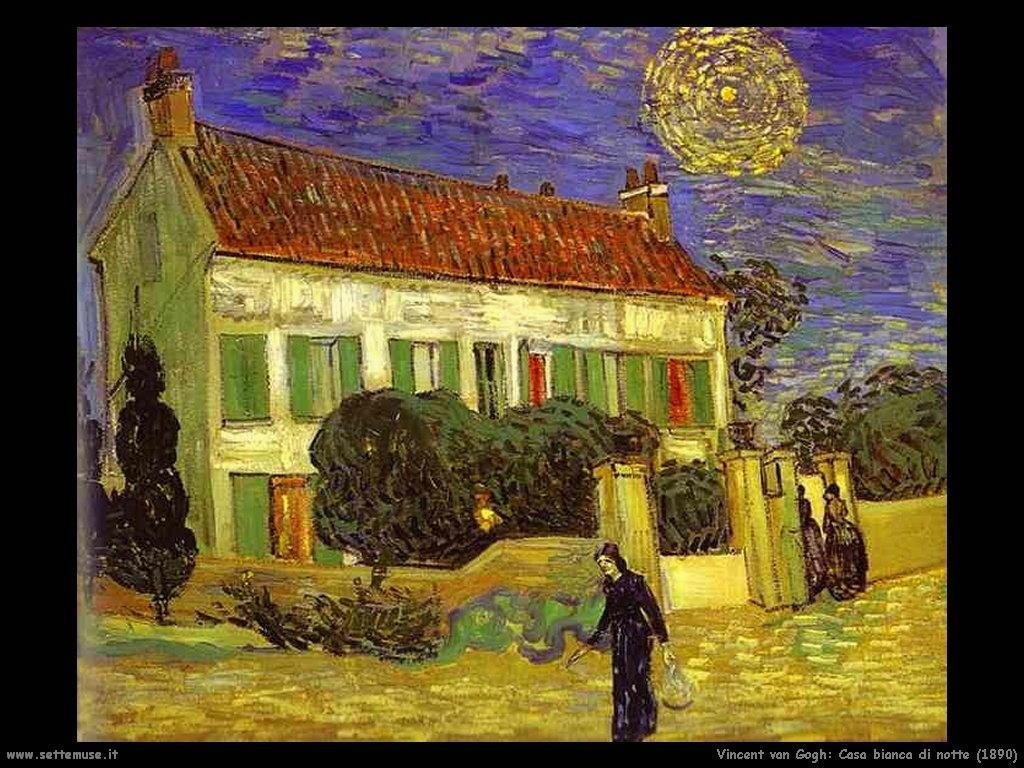 Vincent van Gogh_casa_bianca_di_notte_1890
