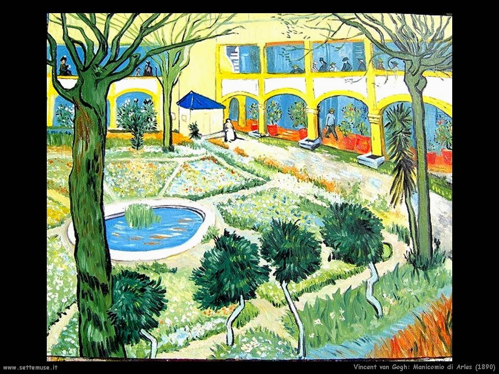 Vincent van Gogh_arles_manicomio