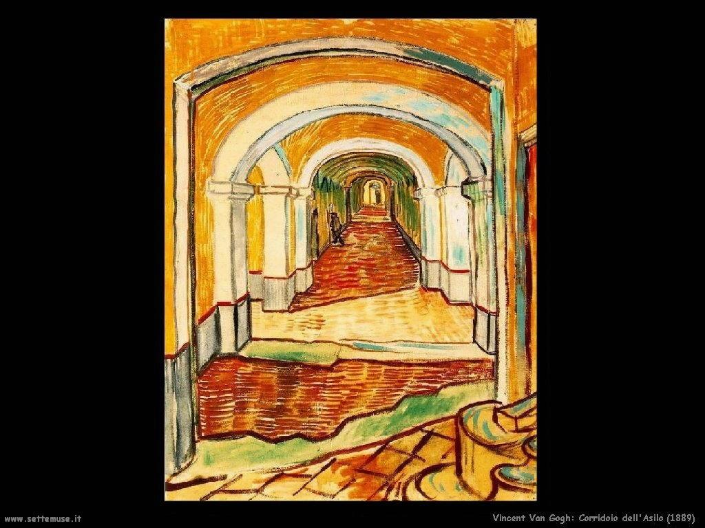 Vincent van Gogh_corridoio_dell'asilo_1889