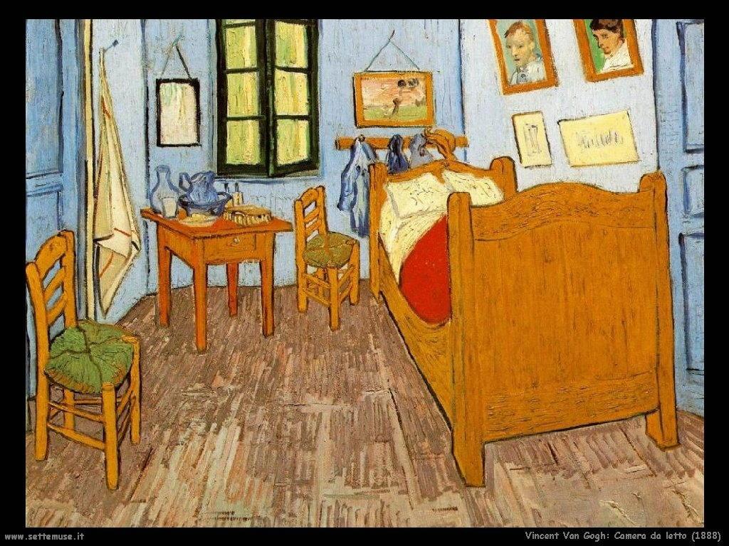 Vincent van gogh pittore biografia opere 2 - Camera da letto van gogh ...