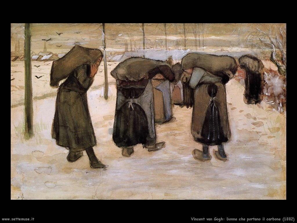 Vincent van Gogh_donne_che_portano_carbone_1882