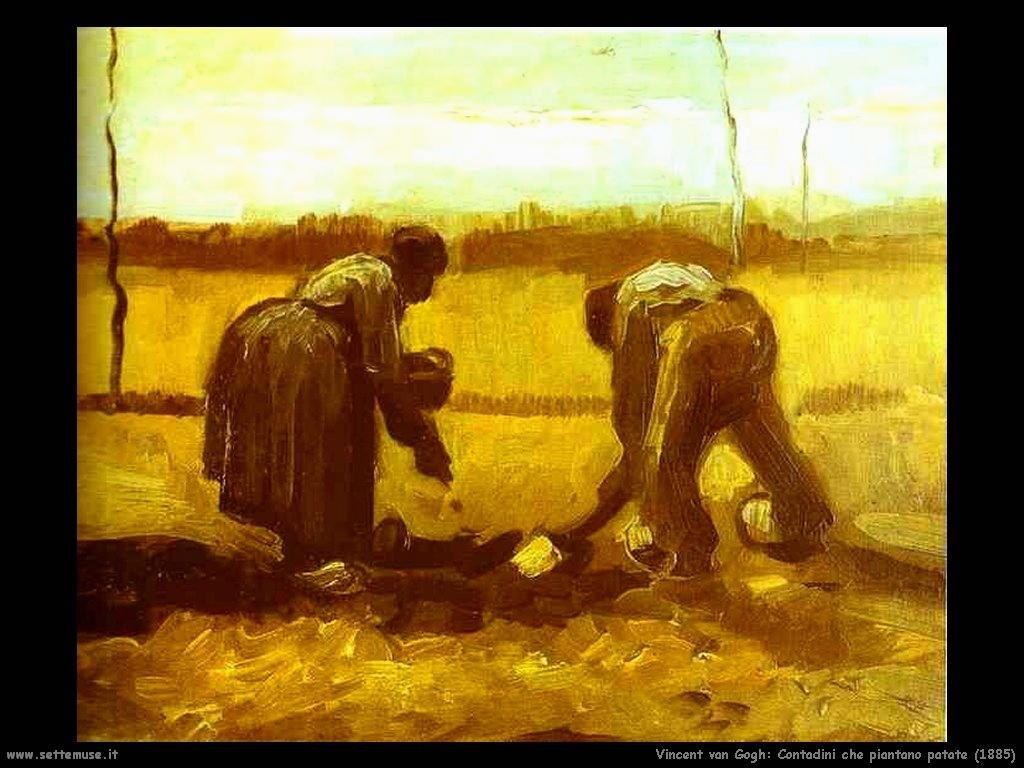 Vincent van Gogh_contadini_che_piantano_patate_1885