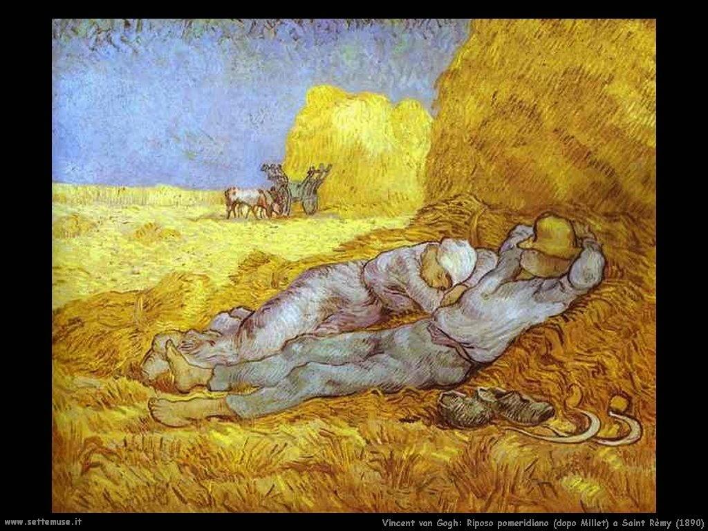 Vincent van Gogh_riposo_pomeridiano_dopo_millet_saint_rémy_1890