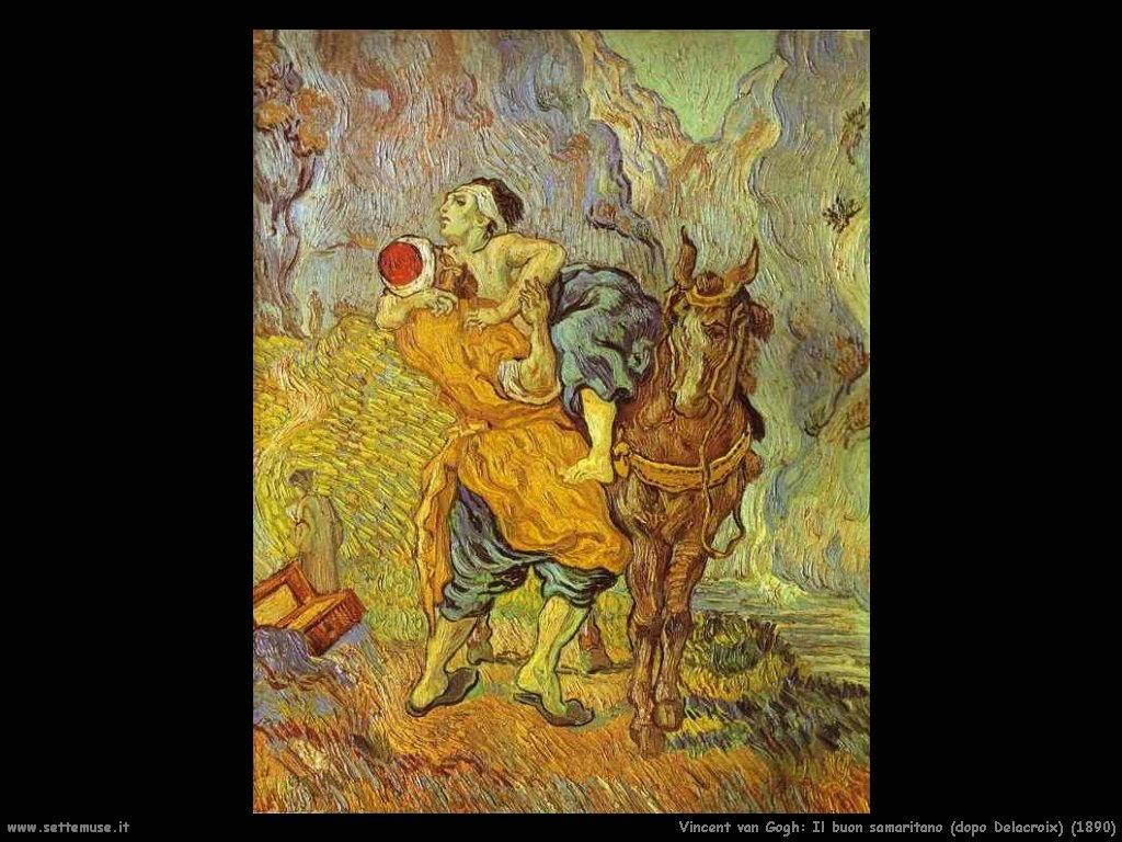 Vincent van Gogh_il_buon_samaritano_dopo_delacroix_1890