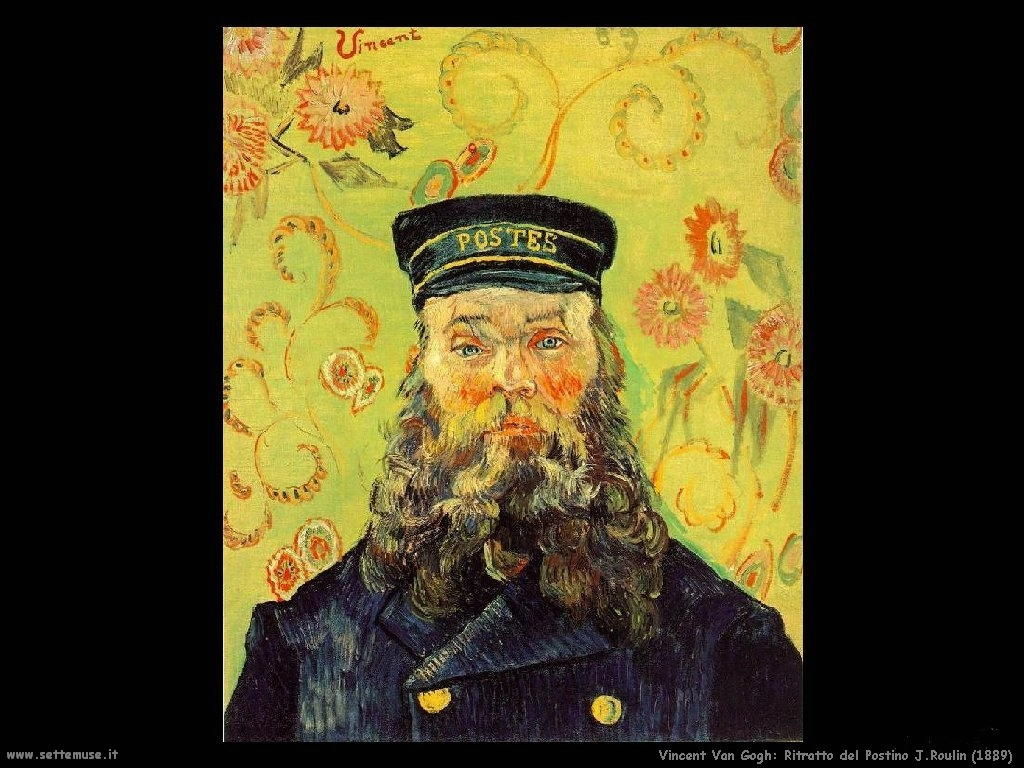Vincent van Gogh_ritratto_postino_roulin_1889