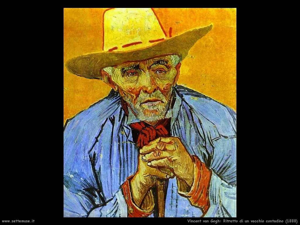 Vincent van Gogh_ritratto_di_vecchio_contadino_1888