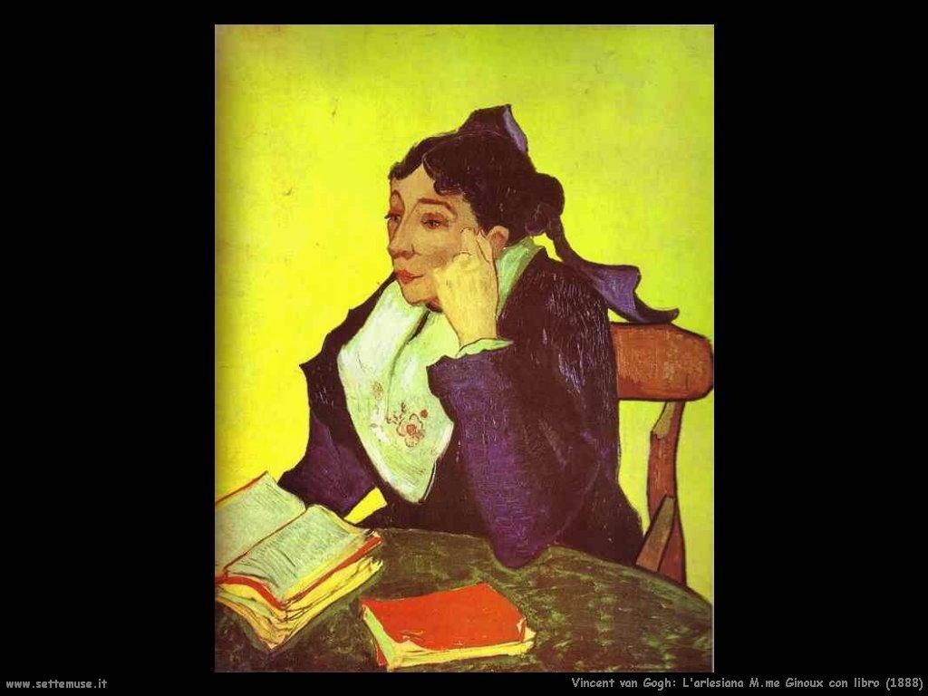 Vincent van Gogh_arlesiana_mme_ginoux_con_libro_1888