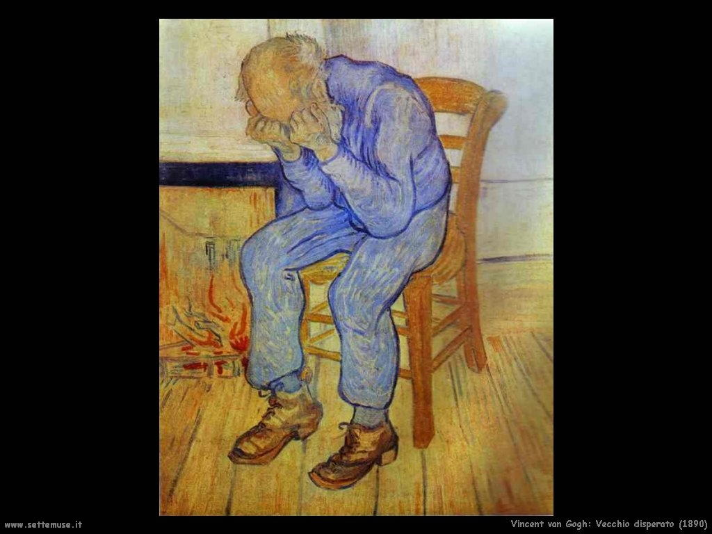 Vincent van Gogh_vecchio_disperato_1890