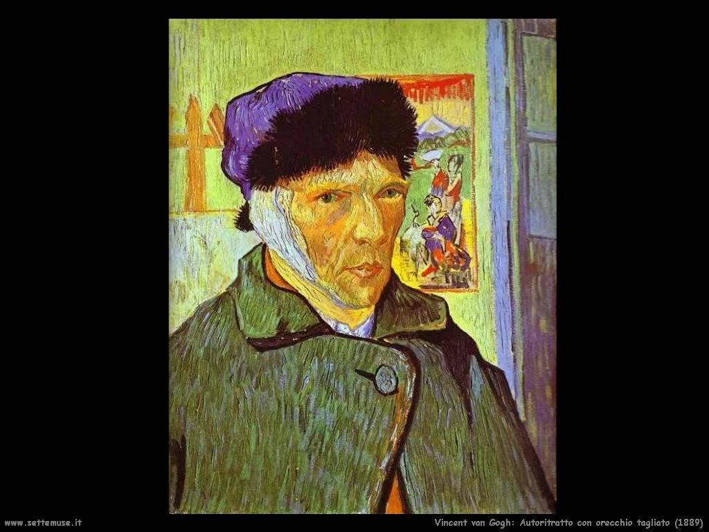 Vincent van Gogh_autoritratto_con_orecchio_tagliato_1889
