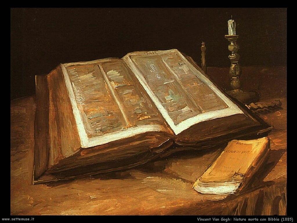 Vincent van Gogh_natura_morta_con_bibbia_1885