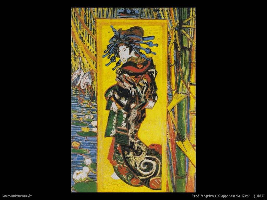 Vincent van Gogh giapponeseria 1887