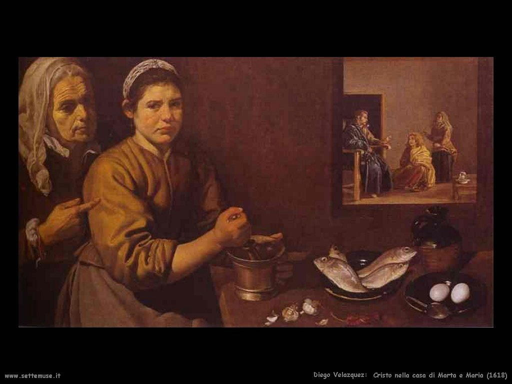 Diego Velà¡zquez cristo_nella_casa_di_marta_e_maria_1618