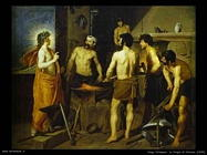 Diego Velazquez, La forgia di Vulcano 1630